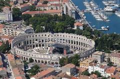 Pula - Croatia 2 (Vinko Sunde) Tags: stone coast ancient roman ruin croatia arena adriatic pula hrvatska coluseum ampitheatre