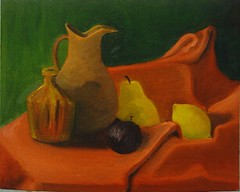 still life - oil painting
