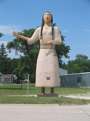 World's Largest Pocahontas