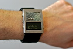 8186 Geek o'clock (stillframe) Tags: watch nixon speaker recorder thedictator nixonnow inspectorgadgetish knightriderneededoneofthese ishouldhavewaxedmyarmfirst
