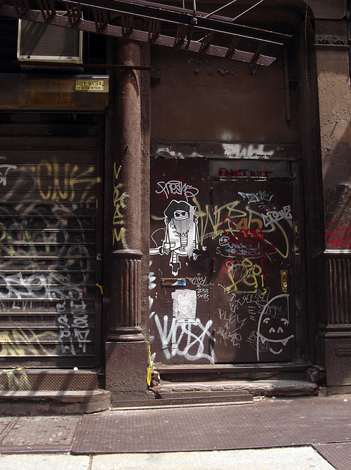 Tribeca graffiti