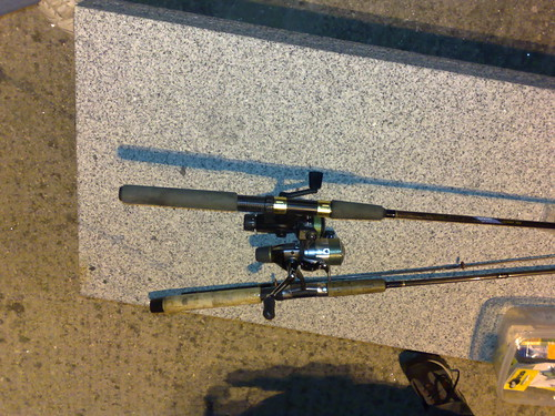 Pescando en Ribeira