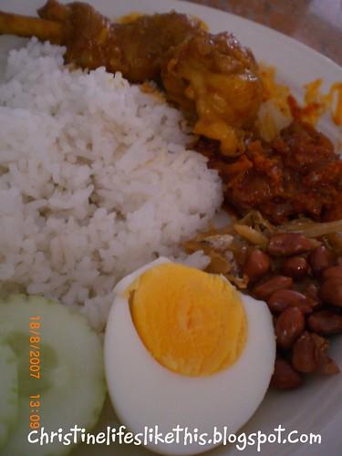 nasi lemak (2)