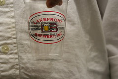 Lakefront Brewery-- before the tour