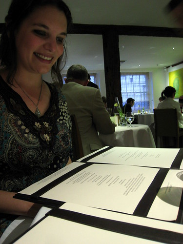 Girlie discovers that the menu is actually a Jacob's Ladder