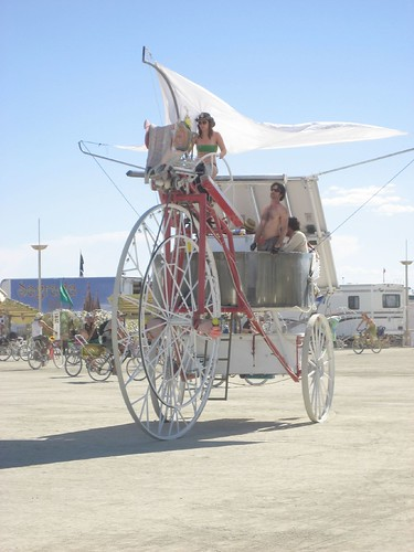 Art Car at Burning Man 2007