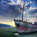 Sunrise on the shipwreck | Baie St-Paul, Quebec, Canada | HDR | davidgiralphoto.com