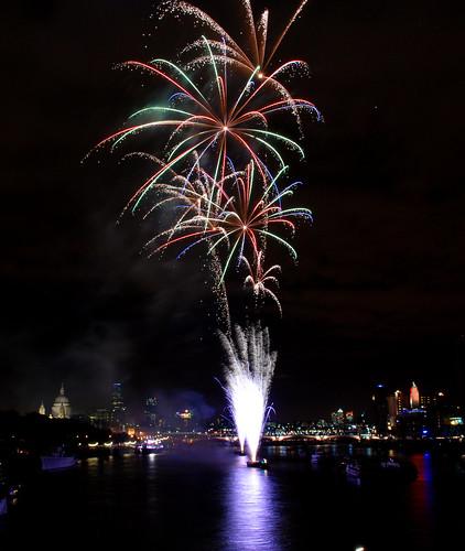 Thames Festival Fireworks 03