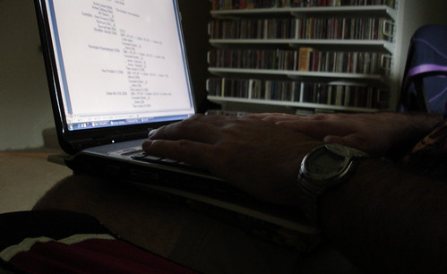 His Laptop
