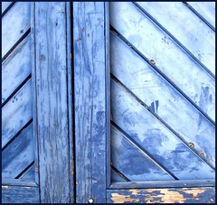 Blue PP minimal (tina negus) Tags: door blue abstract lines leicestershire minimal peelingpaint ruraldecay wowiekazowie saltby colourartaward coolestphotographers