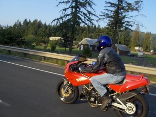 Ducati Rolling Shot