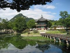 Gyeongbokgung island pavillion