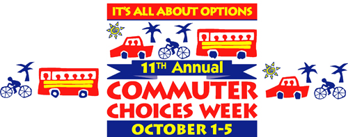Commuter choices week header