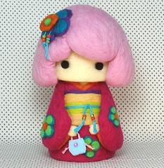Kimono Cutie 20090103 02 by YuYuArt