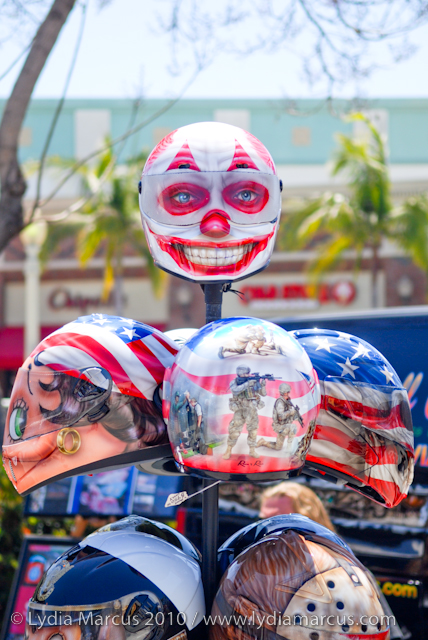Creepy Helmets