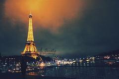 E i F F E L.. (- M7D . S h R a T y) Tags: paris france night french nice tour eiffel calm ya 5photosaday wordsbyme 7llo allrightsreserved