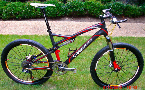 Specialized S-WORKS Epic Carbon - 2009 (Custom Build) - a