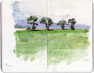 A simple tree line
