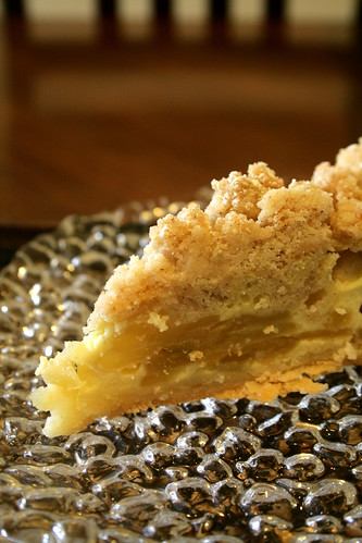 Sourcream apple pie 122