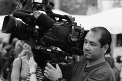 Cameraman at the USA Science and Engineering Festival. (DeusXFlorida (9,099,774 views) - thanks guys!) Tags: street people bw usa film festival 35mm washingtondc washington nikon kodak streetphotography engineering science 35mmfilm scanned f5 2010 cameramen nikonf5 kodakbw400cnfilm scannednegatives kodakbwfilm kodak35mmfilm peopleinusa usascienceandengineeringfestival nationalmallandfreedomplazainindowntownwashingtondc streetfilmphotos cameramanatwork cameramenatthestreet