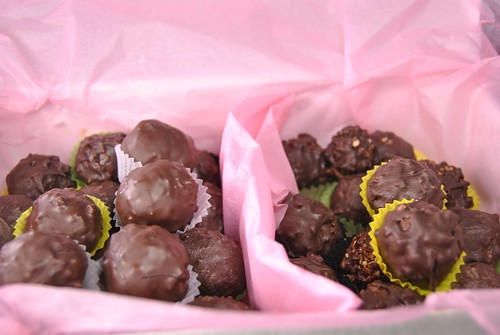 Rocher chocolate pralines