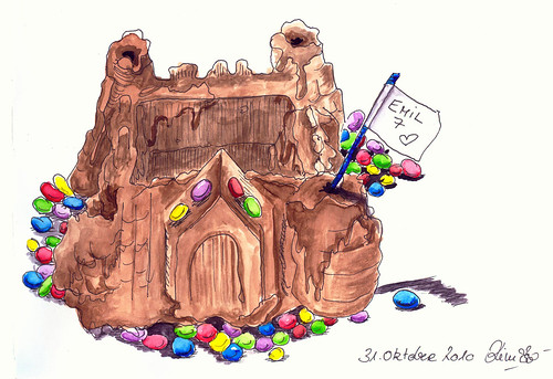 knight´s castle-cake
