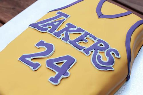 LA Lakers Cake-3