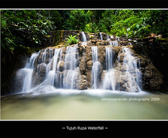 Tujuh Rupa Waterfall (ali trisno pranoto) Tags: indonesia waterfalls airterjun malukuutara northmaluku transmigrasi alitrisnopranoto subaim easthalmahera halmaheratimur
