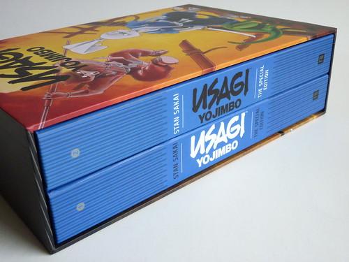 Usagi Yojimbo: The Special Edition by Stan Sakai - spines