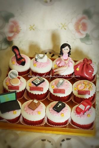 Feminin Glamour Cupcakes