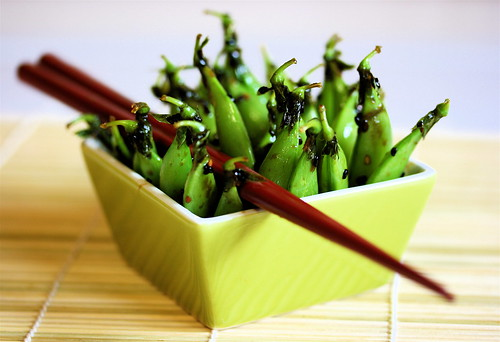 Sugar and Spice Snap Peas