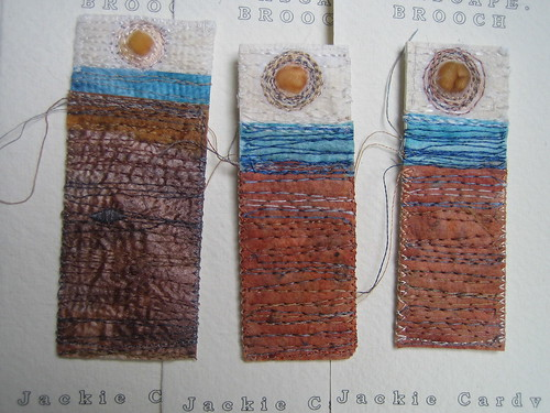 Seascape Brooches