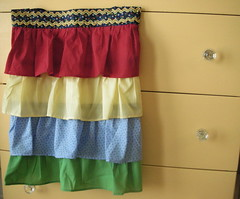 OHC Apron Swap - A One More Moore Ruffle Apron