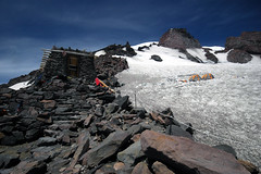 Camp Muir, Mt. Rainier (TroyMasonPhotography) Tags: mtrainier washington mountain campmuir mountaineers aplusphoto awesomenature mountrainier topv555 rainier tmason basecamp whittakermountaineering mountainclimb nationalpark josh checkthis