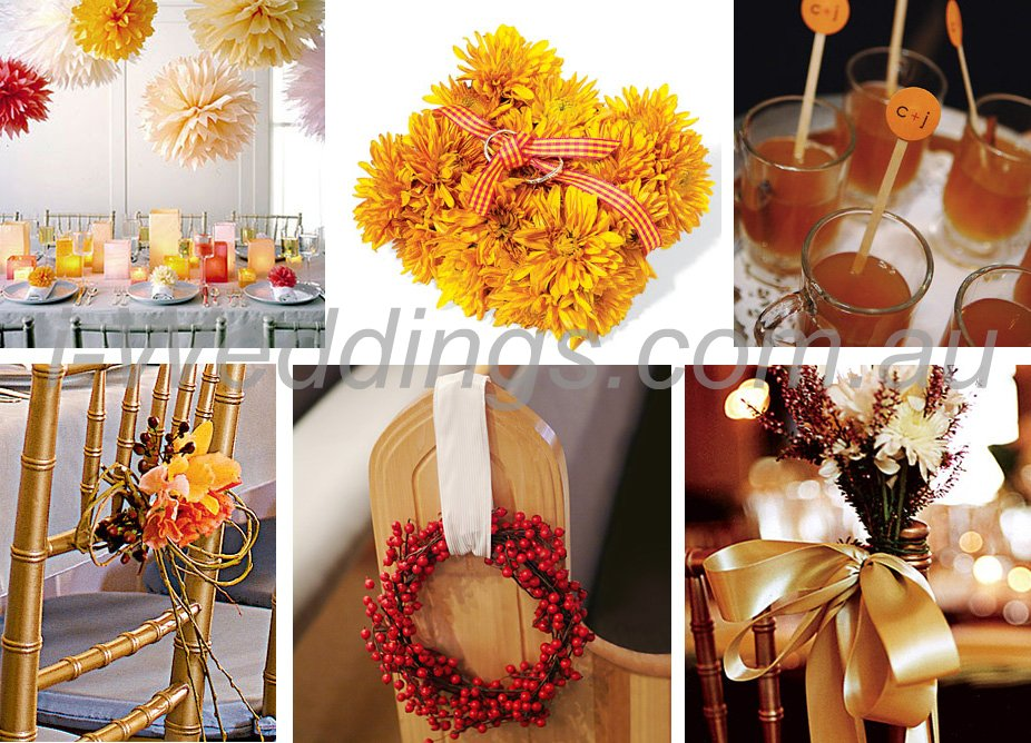 iLoveThese orange and gold inspirations
