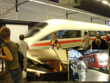 Zugfahrt Berlin - Chemnitz