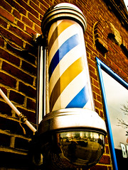 barber pole - by -Chad Johnson