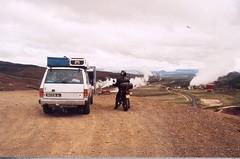 centrale_geothermique_patrol_dr (alain_borie) Tags: iceland 2006 christophe alain patrol islande vro elose gadic 650dr