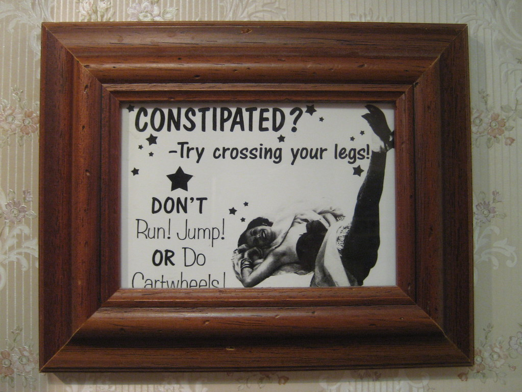 Constipated?