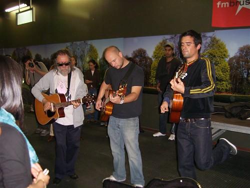 Roland, Flip Kowlier en Gabriel Rios