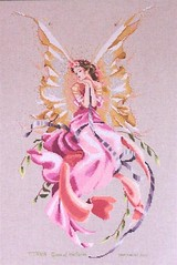 Titania, Queen of the Fairys, Mirabilia (sticksuse) Tags: angel crossstitch queen fairy engel titania mirabilia kreuzstich