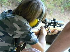 Shooting a .22