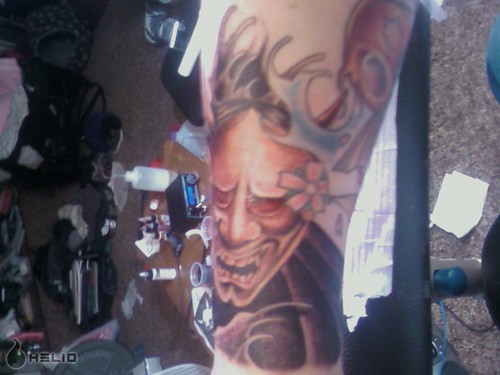 Hannya Mask Hannya mask tattoo done