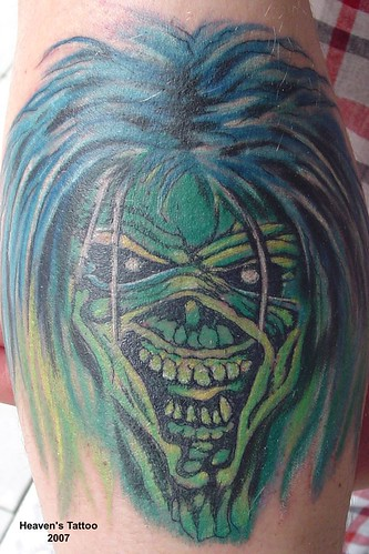 Adler Tattoo · Bernd's Tattoo · Iron Maiden Tattoo