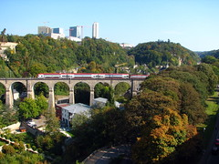 Passerelle Viaduct (Skept) Tags: europe luxembourg luxembourgcity