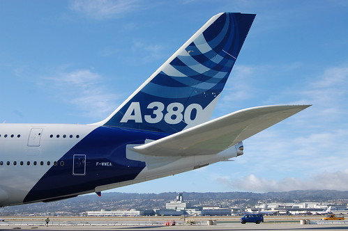 Airbus A380 Tail