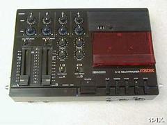 Fostex X-15 4 track recorder