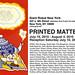 Printed Matter 8