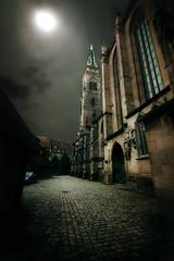 Nuremberg at Night (Carles Orfila) Tags: night photoshop canon dark eos mark nuremberg gothic creation ii 5d 1635mm ef1635mmf28liiusm 1635ii obramaestra