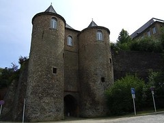 Three Towers[2] (juka14) Tags: travel wall gate europe sightseeing luxembourg beautifulplaces threetowers